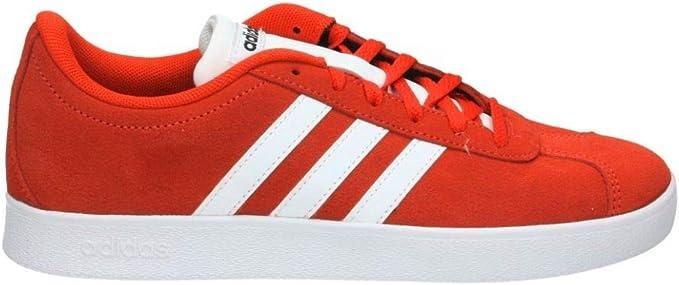 Etna nieve Ejercicio  Adidas Originals VL Court 2.0 Children's Trainers Red/White, 39 1/3 EU – 6  UK – 6.5 US: Amazon.de: Bekleidung