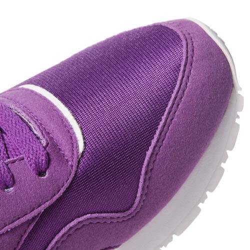 Aubergine//White Reebok Classic Nylon Sneaker 6.5 M US