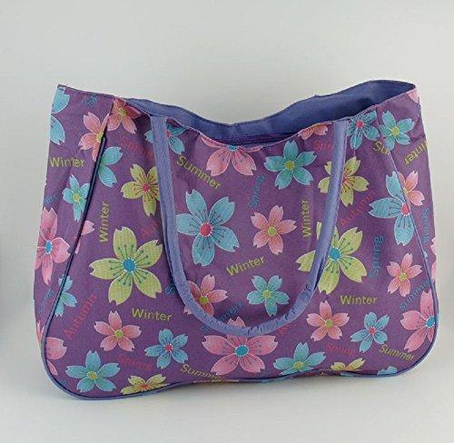 "Tasche ""Four Seasons"" - violett"