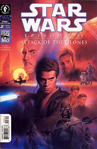 Star Wars Episode 2 Attack of the Clones (2002 Art Cover) 3