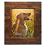 Eosglac Wooden Picture Frame 8x10 inch, Wood Plank