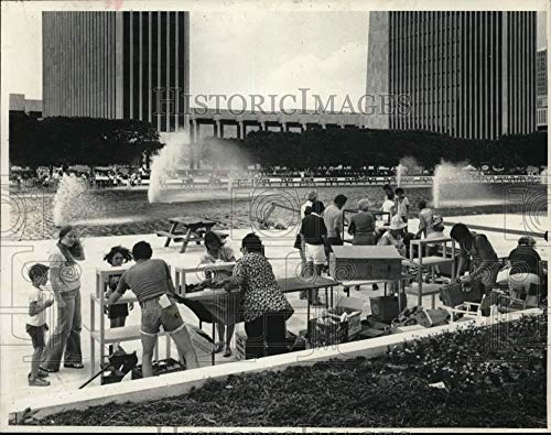 1979 Press Photo International Bazaar held on South Mall in Albany, New ()