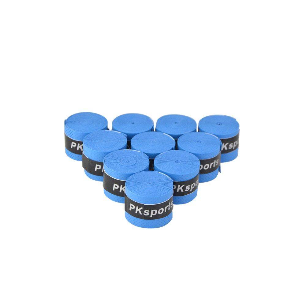 MILAEM Tennis Griffband Badmintonschläger Overgrip für Antientgleiten und Schweiß zu Saugen Band, 10 Griffbänder per Paket ZDhunting Shop