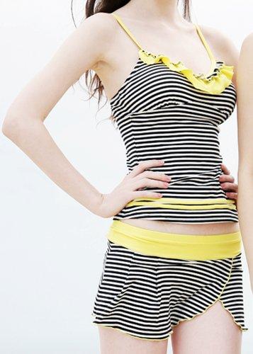 Damen Badeanzug , Sensational Stripy/ Tankini Bikini/mit BH Support & herausnehmbaren Cups/ verstellbaren Trägern/Größe 42