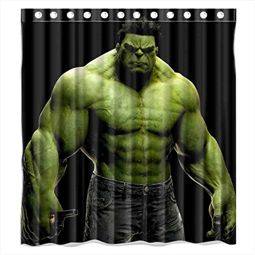 Incredible Hulk Shower Curtain