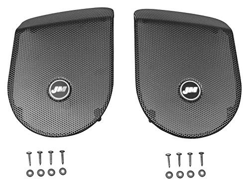Models Newer Touring (J&M Audio Replacement Saddlebag Speaker Grilles 2014 and Newer Harley Touring models - HGRL-SD14)