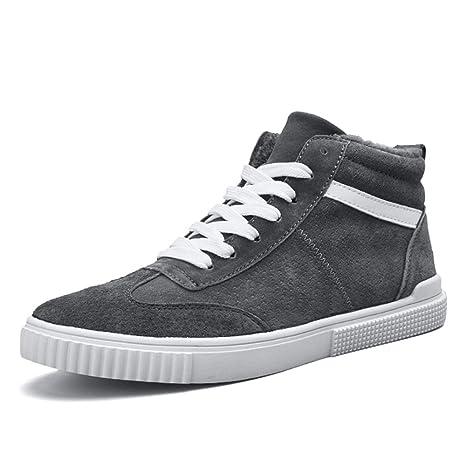Le calzature sportive Feifei Scarpe Invernali da Uomo Calde Scarpe Alte da  Neve (Colore   1344ac9f52f