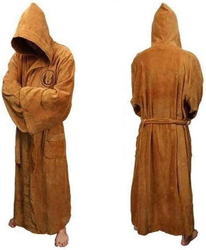 Unisex Halloween Costume Men Women Star Wars Jedi Warrior Hooded Robe Cosplay UK
