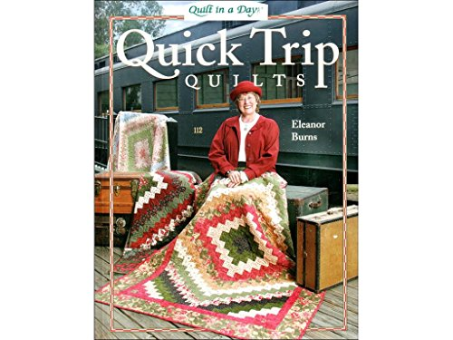 Quilt In A Day Bk Quick Trip Quilts Back (Best Quilts In The World)
