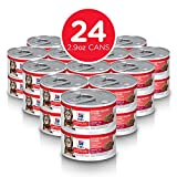 Hill's Science Diet Adult Savory Salmon Entrée Canned Cat Food, 2.9 oz, 24-pack