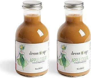 product image for Dress It Up Dressing - Apple Cider Vinaigrette | Gluten Free, Vegan, Zero Sugar, & Low Sodium | Paleo, Keto, & Whole 30 Friendly | Salad Dressing and Marinade | 2pk- 10oz Bottles
