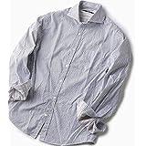 シップス(メンズ)(SHIPS) SC: ドビー ロンドンストライプ セミワイドカラー シャツ