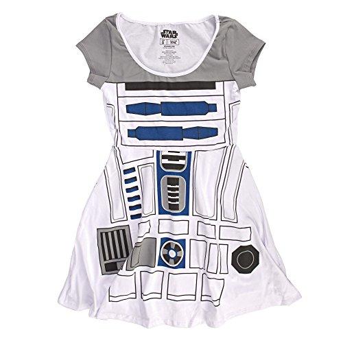Star Wars I Am R2D2 Juniors Skater Dress   M