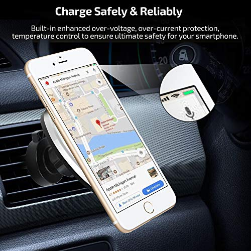 Buy magnetic wireless car charger