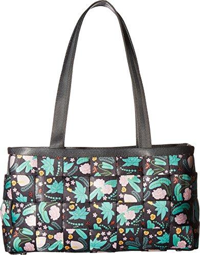 Seat Belt Bag Large Satchel (Harveys Seatbelt Bag Women's Large Satchel Secret Garden One Size)