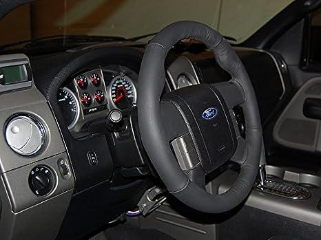 Amazon.com: Ford F-150 2004-08 cubierta del volante de RedlineGoods: Automotive