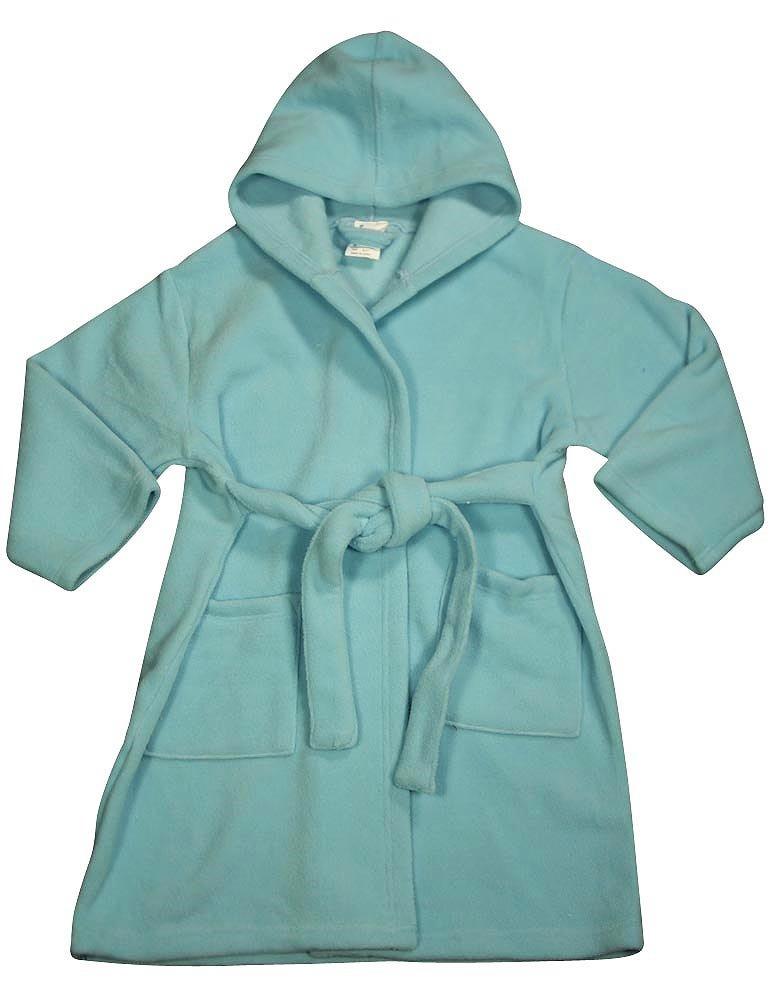 Pegasus - Baby Girls Fleece Snowflake Robe
