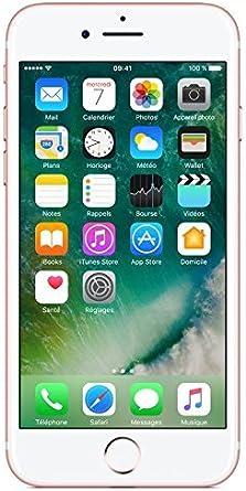 Oferta amazon: Apple iPhone 7 128GB - Oro Rosa - Desbloqueado (Reacondicionado)