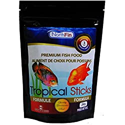 Northfin Food 250 Gram Package Tropical Stick Natural Colour Enhancer