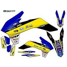 Senge Graphics Late 2001 KTM SX (Has the same plastics as the 2002 SX 250), Ricochet Blue Graphics Kit