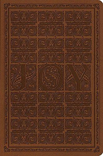 ESV Value Compact Bible (TruTone, Brown, Joy Woodcut Design)