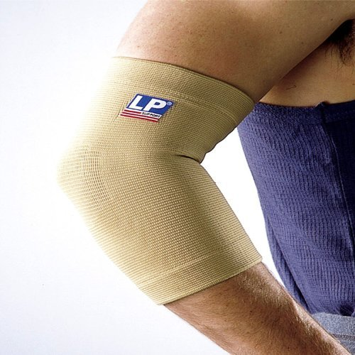 LP Four-Way Stretch Elbow Support (Unisex; Natural), X-Large