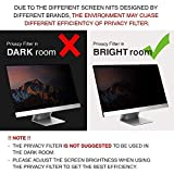 "GeckoCare 21.5 inch Privacy Screen Filter Protector for 21.5"" Apple iMac Monitor Retina 4K Anti-Glare & Widescreen Computer Monitors - Please Measure"