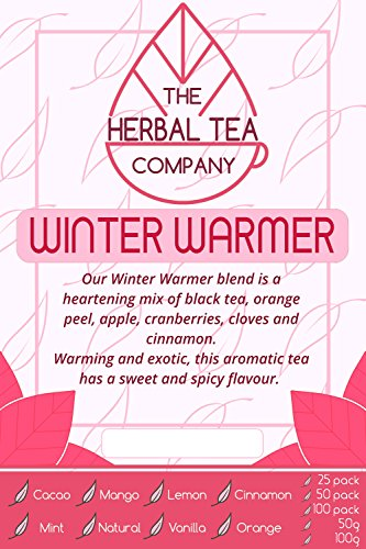 Prickly Pear Winter Warmer Tea Blend Tea Bags With Natural Flavour 25 Pack