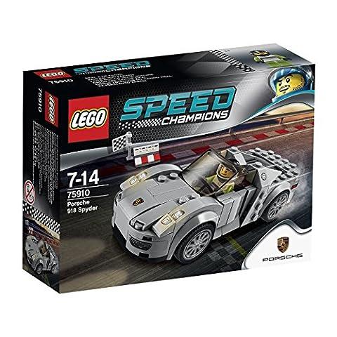 LEGO 75910 Porsche 918 (Bandiera A Scacchi Set)