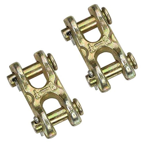 5/16'' Double clevis hook - Grade 70 - 2 Pack