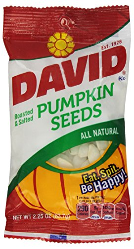 David's Pumpkin Seeds, 2.2500-ounces (Pack of12)]()