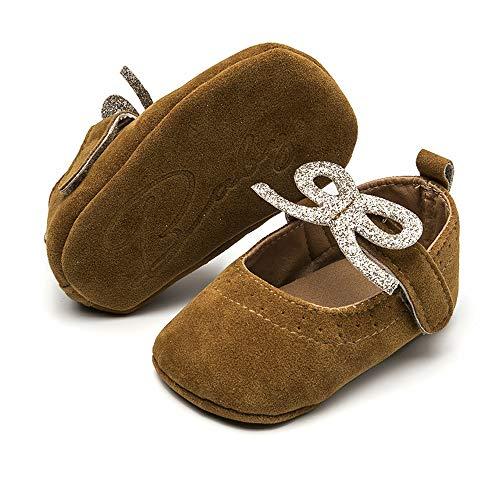04d2a051936ba BubbleColor Baby Girls Dress Shoes Infant Toddler Prewalker PU Anti ...