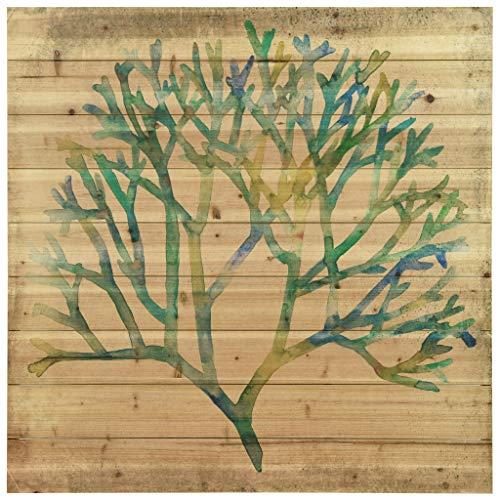 Empire Arte Arte de legno–Acuarela Coral