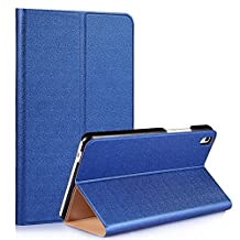 Tsmine Huawei MediaPad T2 8 Pro Origami Slim Case - Folding Premium PU Leather Case Magnetic Cover Stand For Huawei MediaPad T2 8 Pro 8-Inch Tablet, Blue