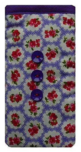 Lila Rosen Print Apple iPhone SE Socke / Case / Cover