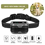 MEKUULA Dog Bark Collar Anti Barking Collars Rechargeable No Bark for Small, Medium and Large Dog with Beep Vibration and Static Shock,petsafe bark Collar,No Shock and Bark E-Collar IP67 Waterproof