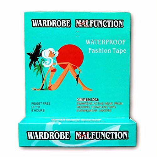 - Fashion Tape By Wardrobe Function | Waterproof Double Sided Tape For Clothes, Bra, Strapless Bra, Swimwear, Pasties, And Women's Clothes | Great Pasties | No More Nip Slips!