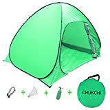 CHUKCHI 2-3 Person Automatic Pop up Instant Portable Tent (Light green) For Sale
