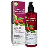 Cheap Avalon Organics Wrinkle Therapy with CoQ10 & Rose- hip Firming Body Lotion, 8 Ounce(pack of 3)