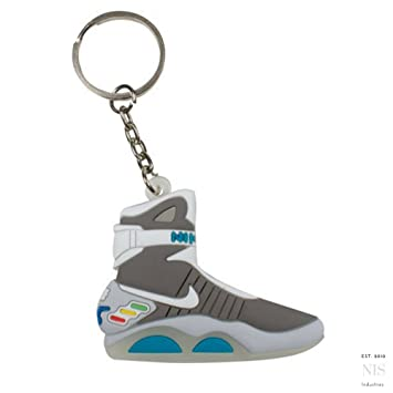 nike air mags. nike air mag back to the future 2d flat sneaker keychain by spusa mags