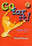 Go for It Book 2 2e-Revised Audio, David Nunan, 1424001056