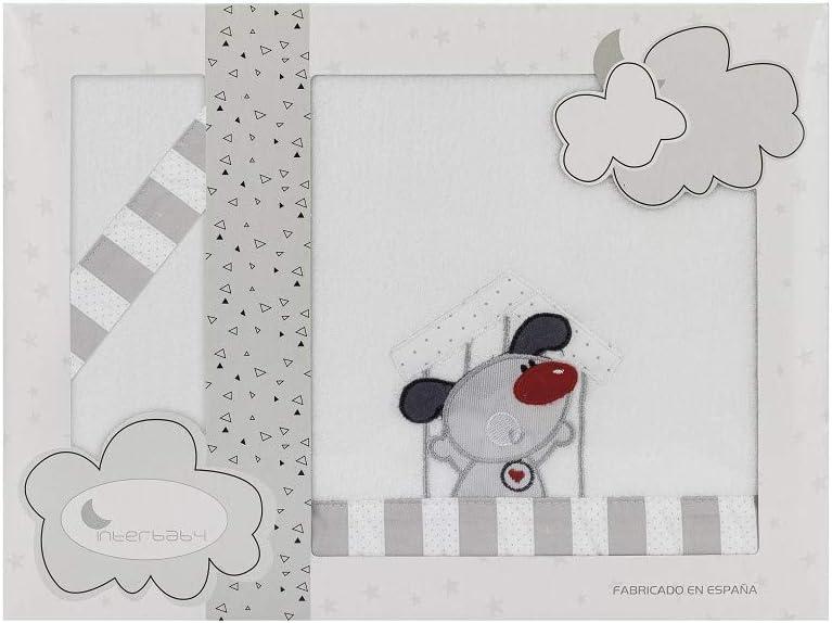 bajera+encimera+funda almohada Sabanas invierno Coralina Minicuna 50 X 80 Bebe Blanco rosa Patito- Color