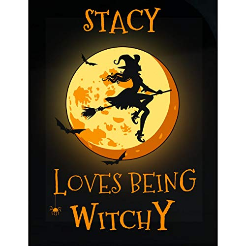 Inked Creatively Stacy Loves Being Witchy Sticker ()