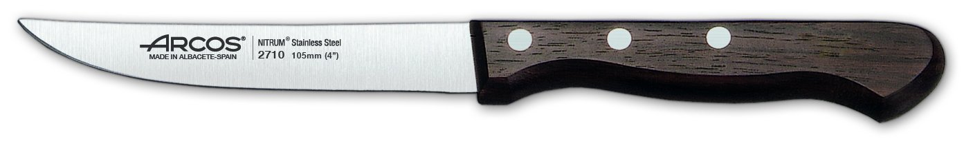 Arcos Palisandro Wood 4-Inch Vegetable Knife by ARCOS