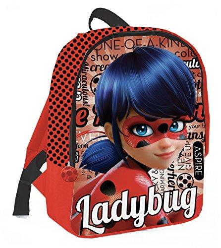 Coriex Lucky Lady Bug Standard Rucksack Kinderrucksack, Mehrfarbig, M