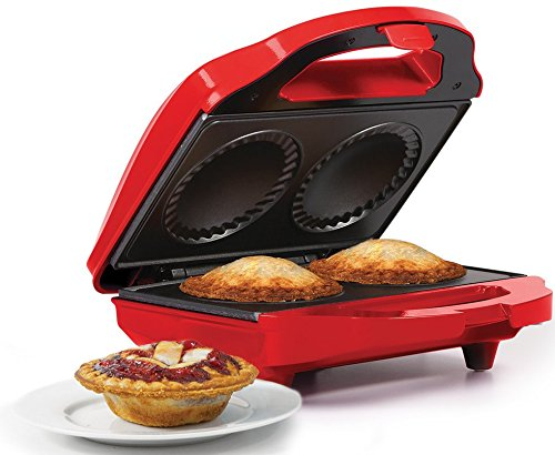Holstein Housewares HF-09016R Fun Mini Pie Maker - - Maker Pie