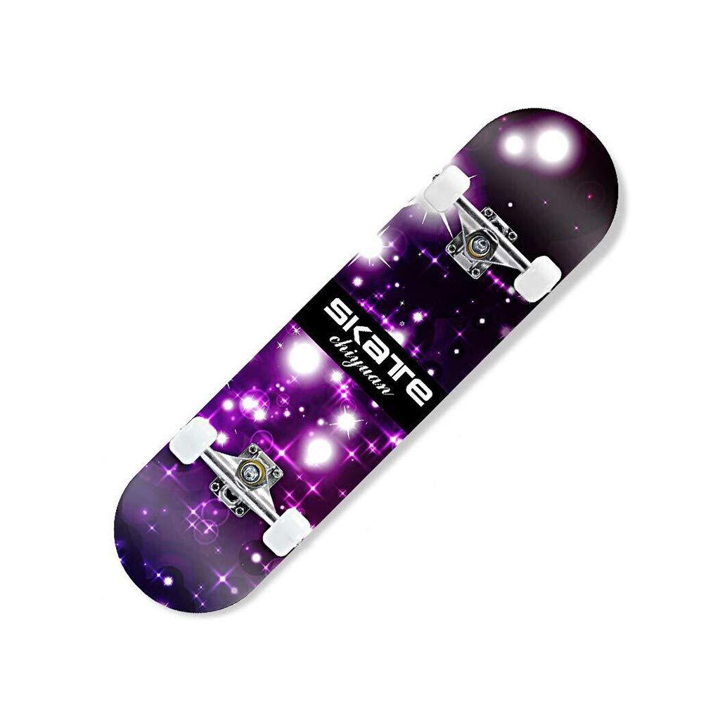 高い品質 ZX 4ラウンド スケートボード スケートボード 若者 初心者 子供 男の子 男の子 女の子 アダルト : ダブルチルト 専門家 スクーター (サイズ さいず : Blue flame) B07H2B6YLQ Starry sky Starry sky, 厨房Byonho:1fce105d --- a0267596.xsph.ru