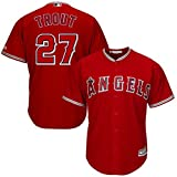Mike Trout Los Angeles Angels of Anaheim #27 Youth Alternate Jersey Red (Youth Small 8) offers