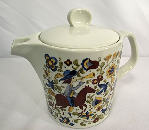 Villeroy & Boch Troubadour Septfontaines 4 Cup Teapot w/Lid Luxembourg Blue Mark