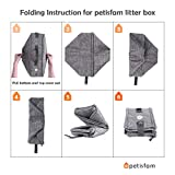 petisfam Travel Litter Box for Cats with 1